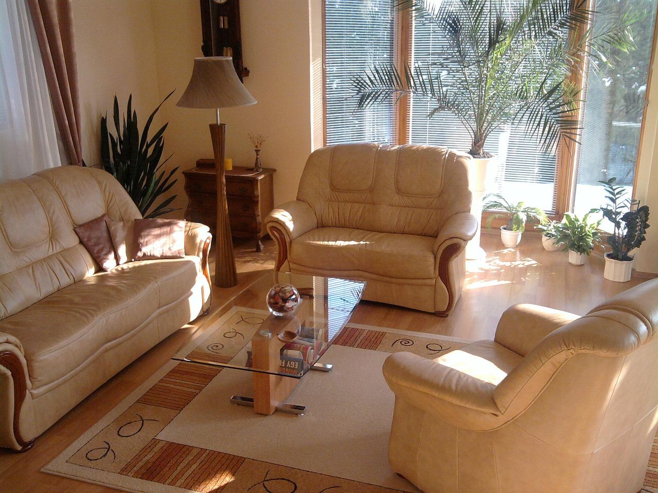 Plusy posiadania sofy w salonie