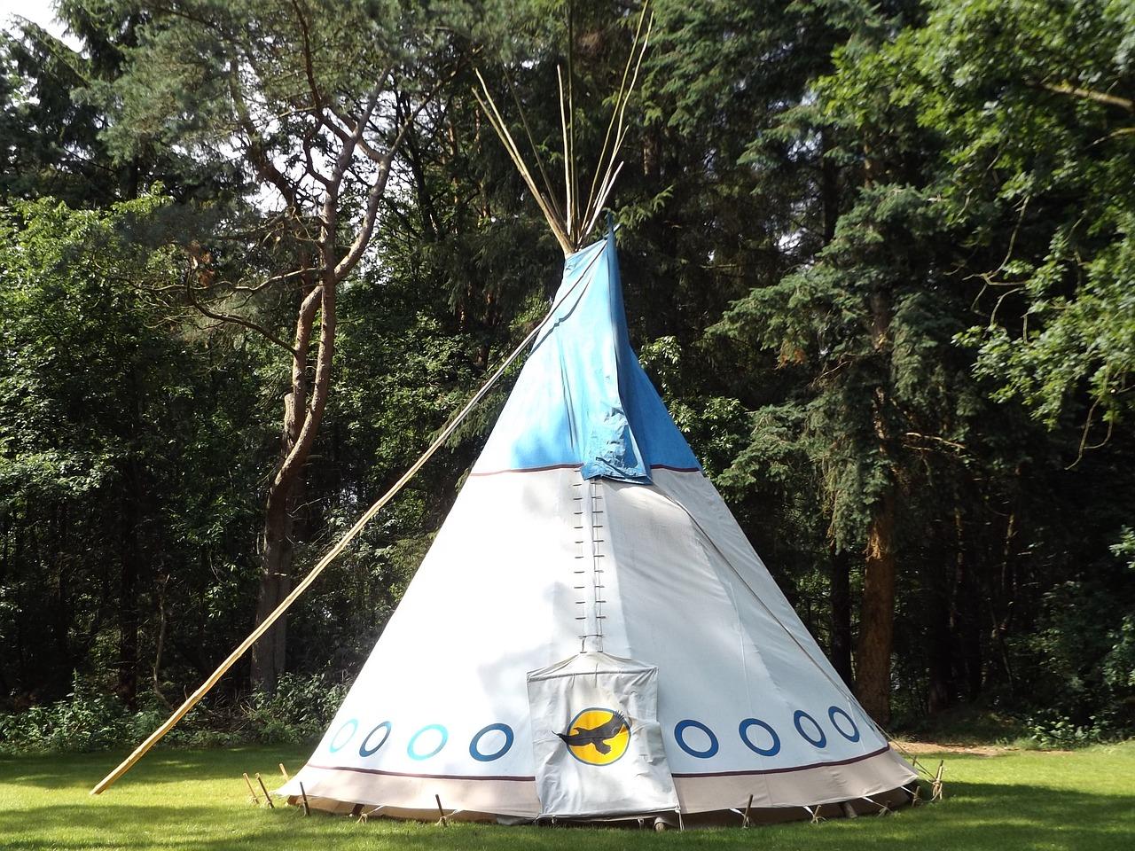 Alternatywa dla tipi dziecięcego – podwieszany namiot dla dziecka